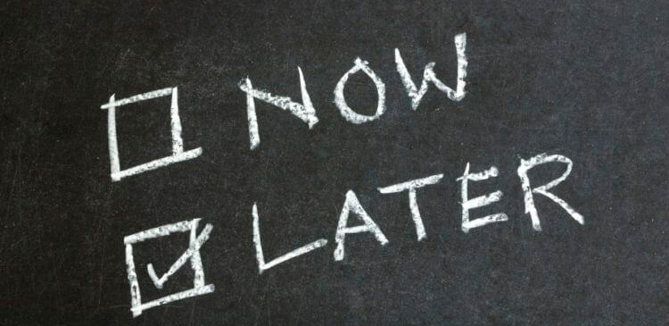5 dicas para deixar a procrastinação de lado